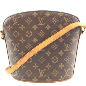 Drouot Monogram Canvas Cross Body Bag